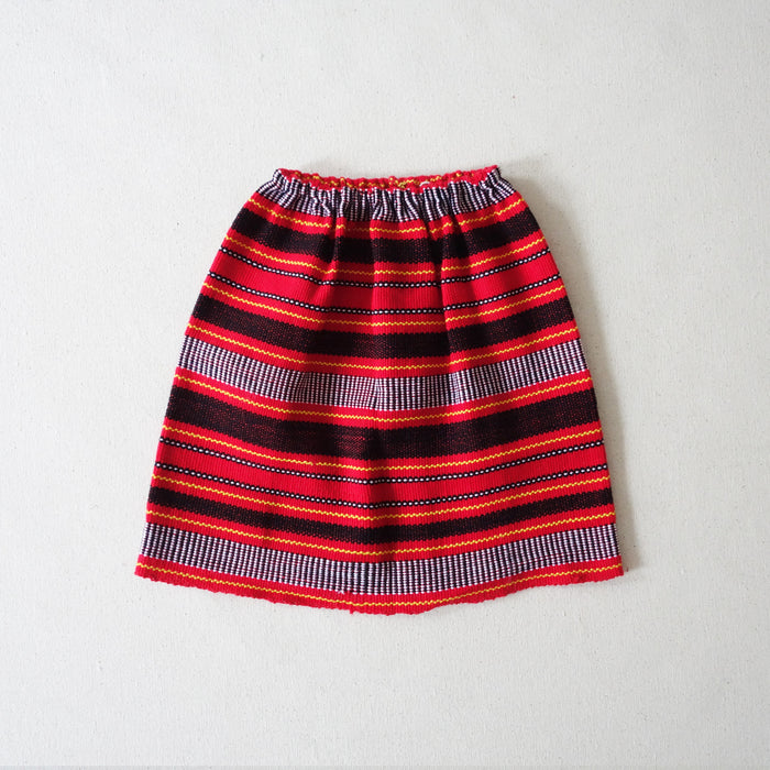 Igorot skirt red