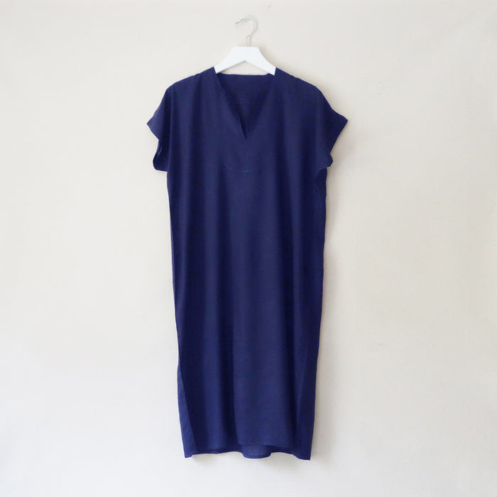 Moroccan tunic navy