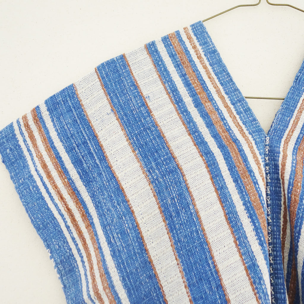 Karen Tunic - Blue Rust Lines