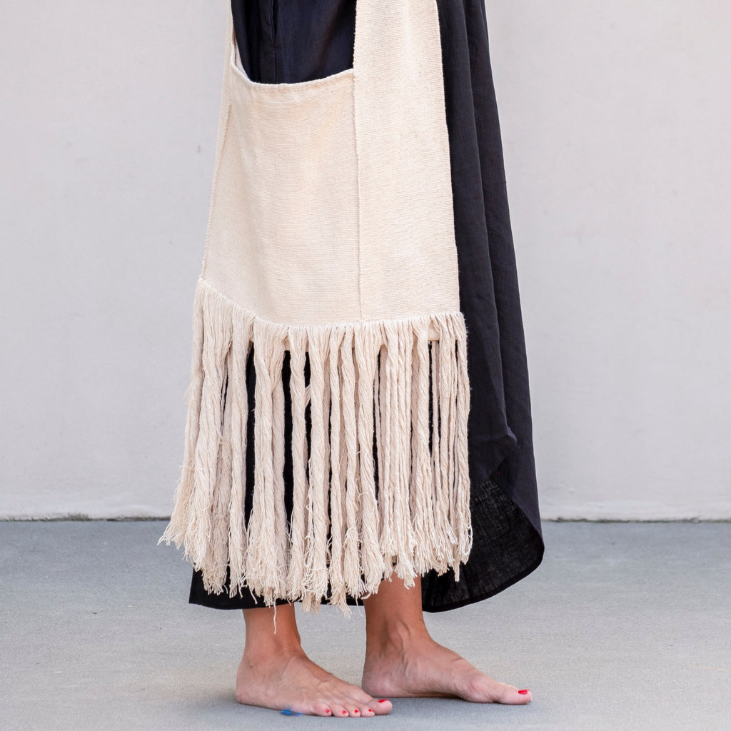 Oversized Cross Body Bag Fringe