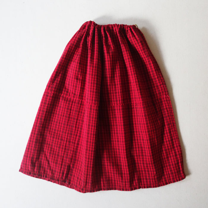 Red Guatemalan Skirt (6-8Y)