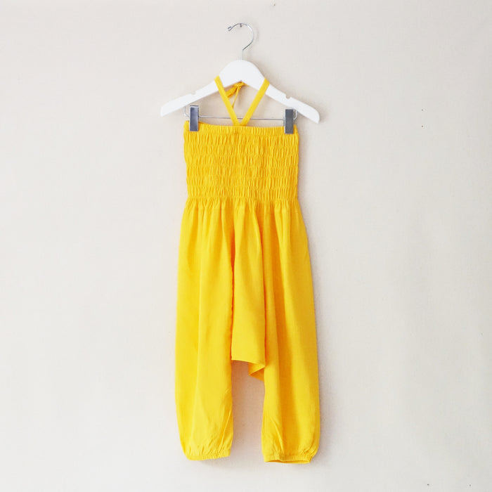 Romper yellow