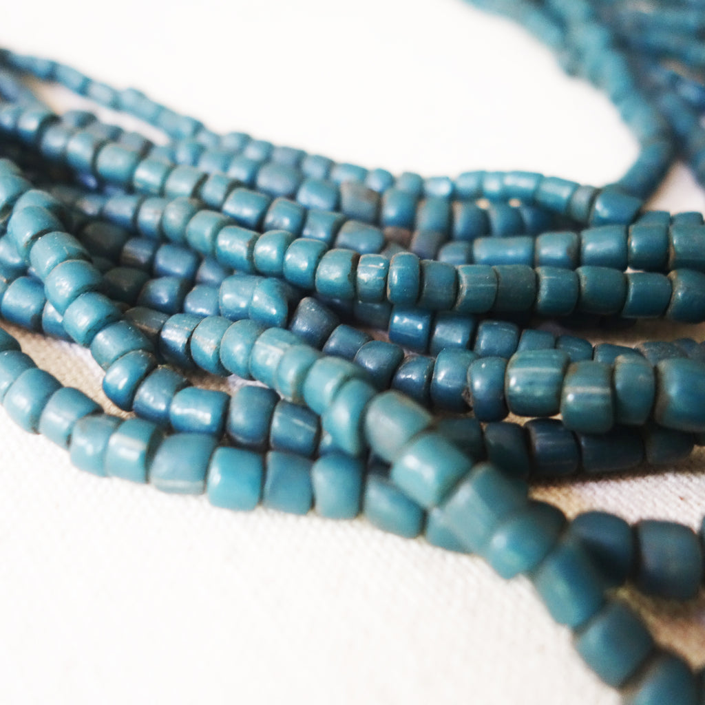Beaded Necklace - Teal