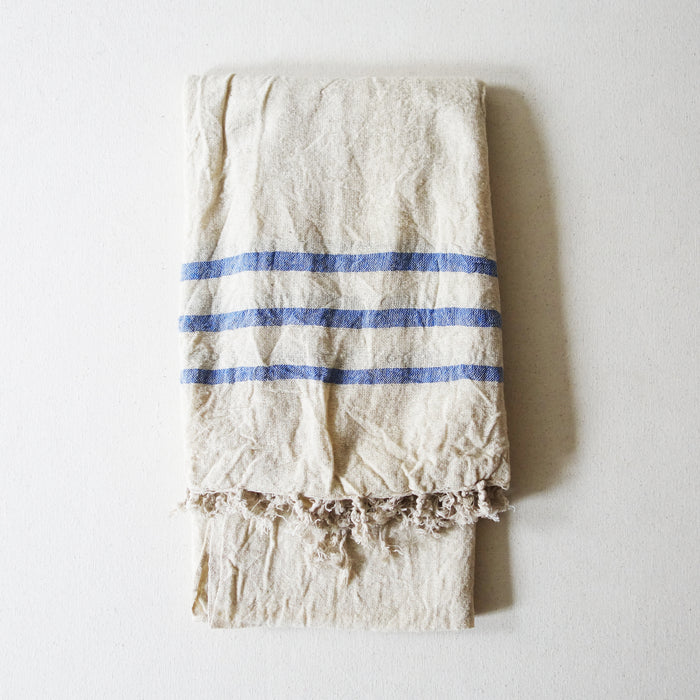 Ecru Raw Silk Scarf
