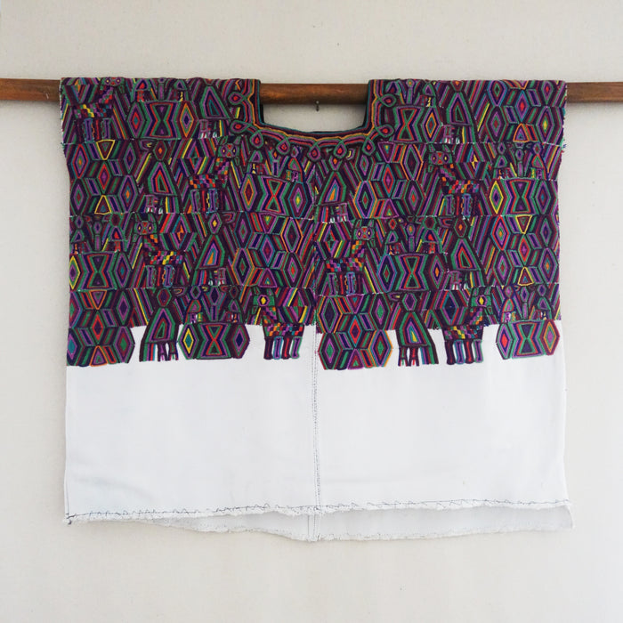 Embroidered Huipil Top