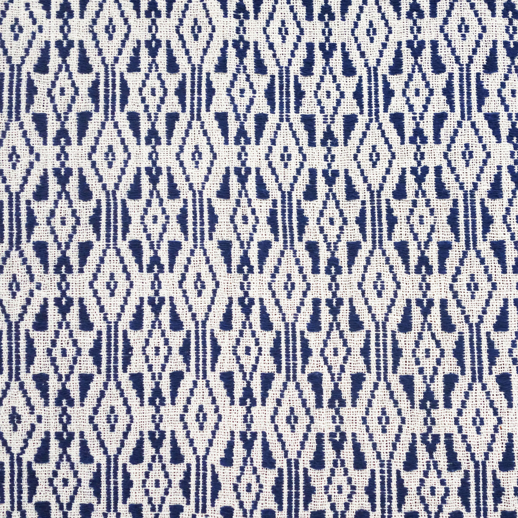 Laos Textile - Blue Diamond