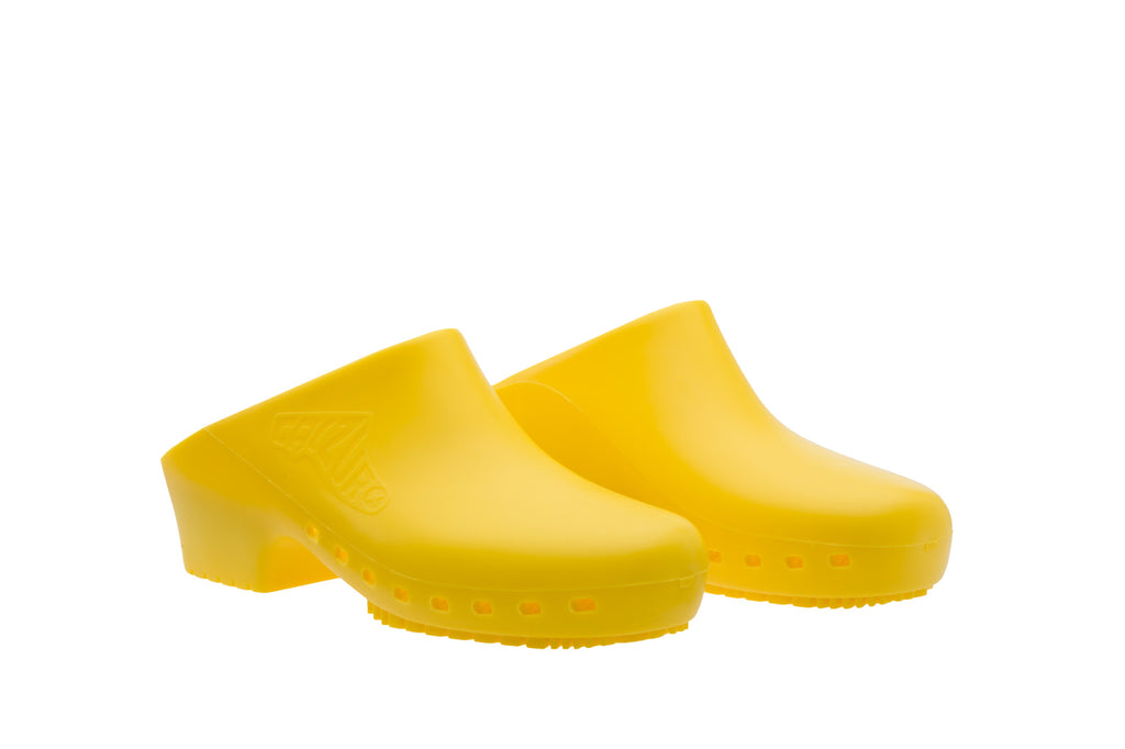 Classic without Upper Holes - Yellow