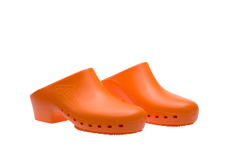 Classic without Upper Holes - Orange