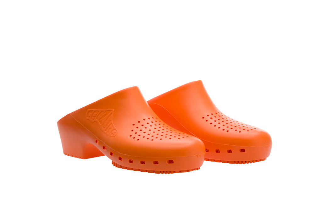 Classic with Upper Holes - Orange