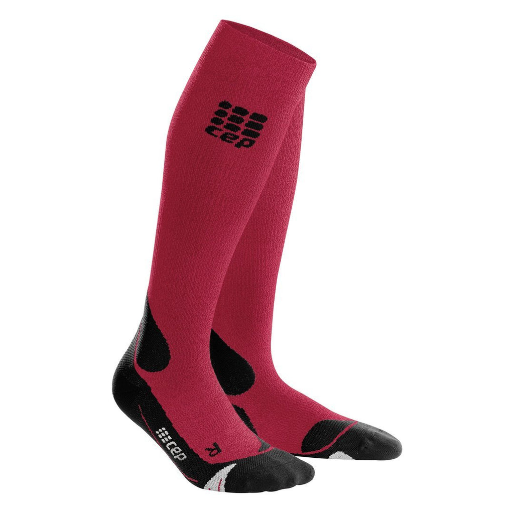 Women Hiking CEP Knee high 20-30 mmHg Merino Compression Socks