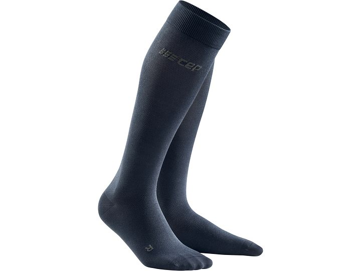 Men Business CEP Knee High 20-30 mmHg Compression Socks