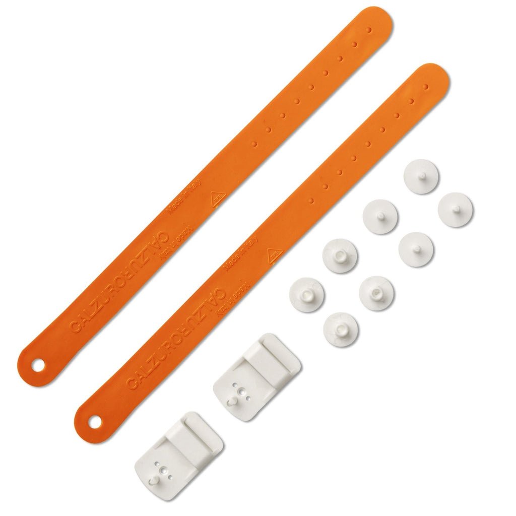 Heel Straps Kit - Orange