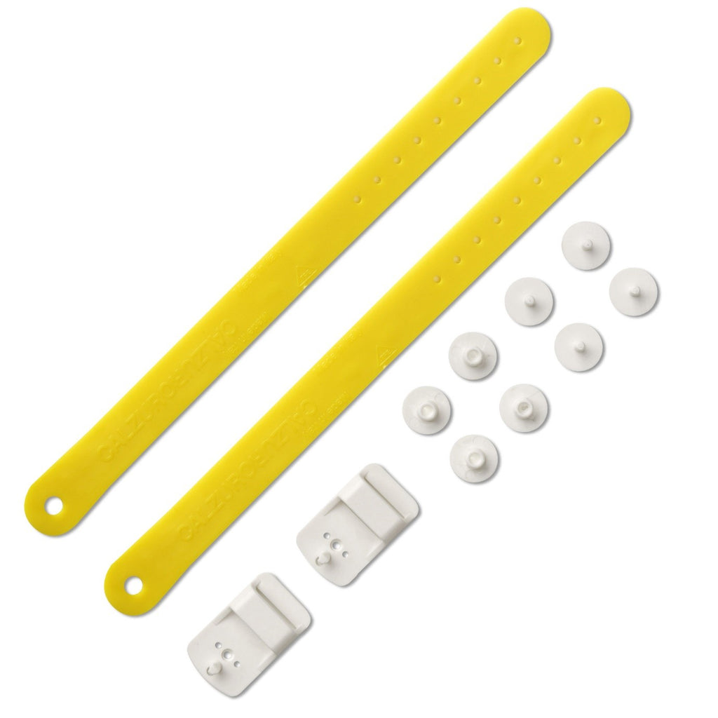 Heel Straps Kit - Yellow