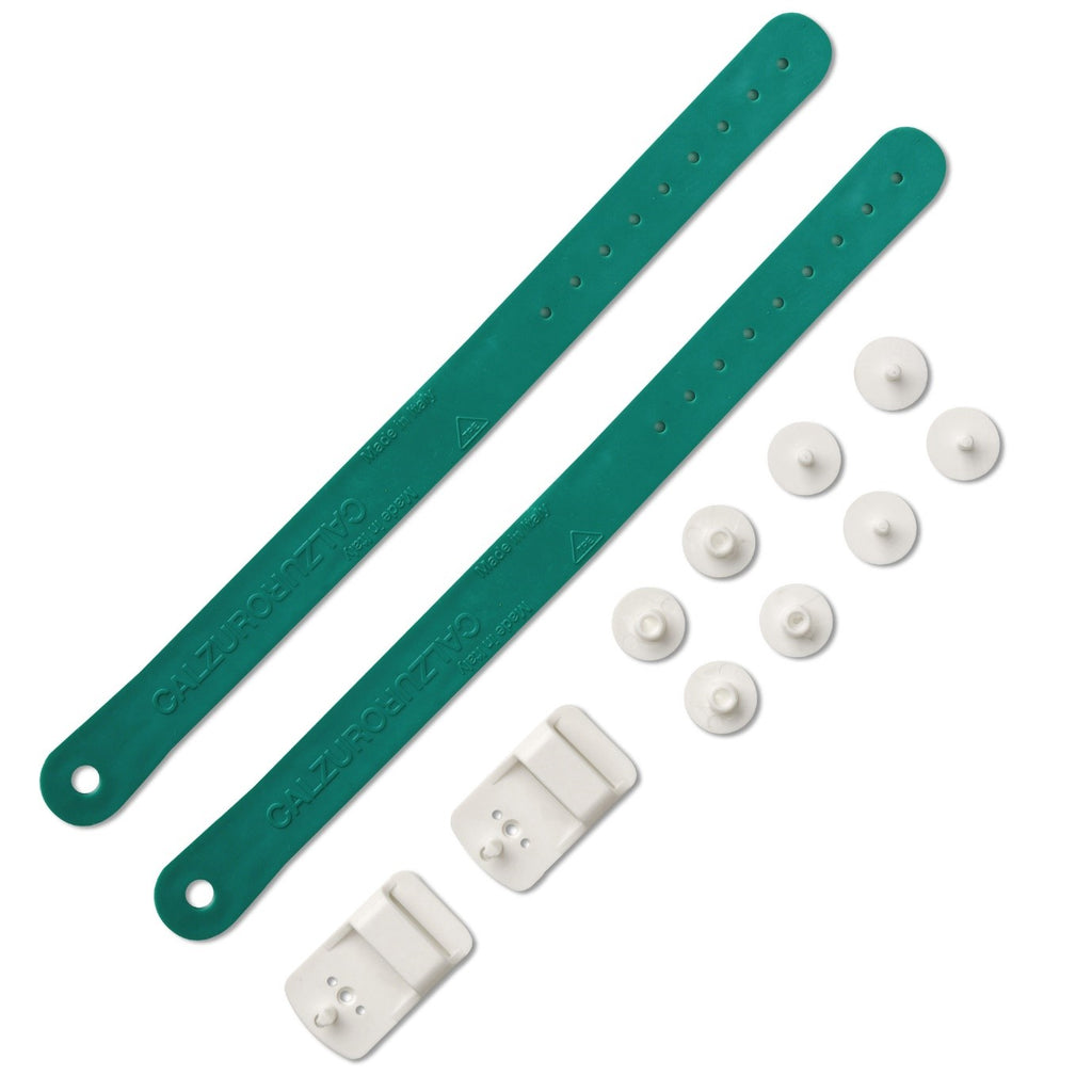 Heel Straps Kit - Green