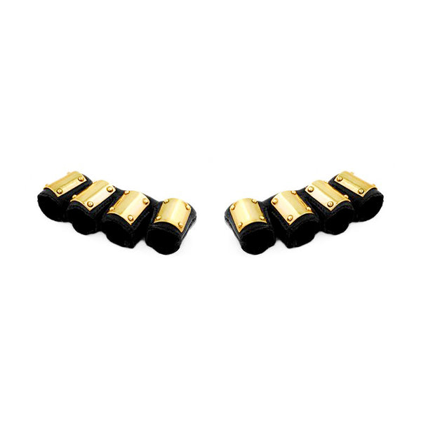 GOLD AMMO HAND SPATS