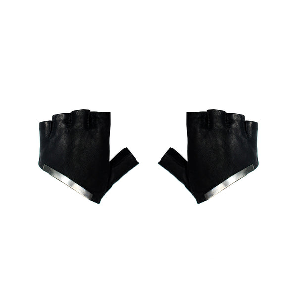 METAL HALF GLOVES