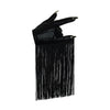 VEGAN LEATHER ABRACADABRA FRINGE NAIL GLOVES