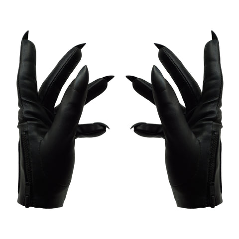IN STOCK BLACK SARAH NAIL GLOVES