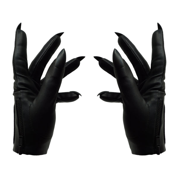 BLACK SARAH NAIL GLOVES