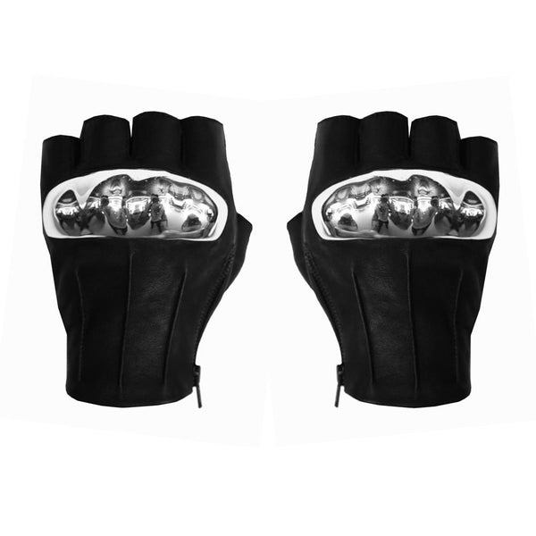 VEGAN LEATHER BULL GLOVES