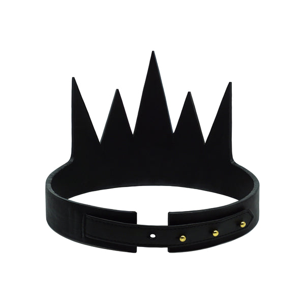 VEGAN METAL TRIMMED CROWN