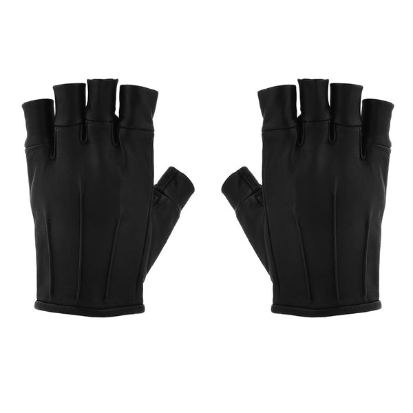 VEGAN FINGER CUFF RIDING GLOVES