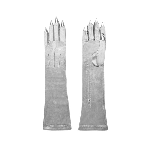 VELVET COCKTAIL NAIL GLOVES