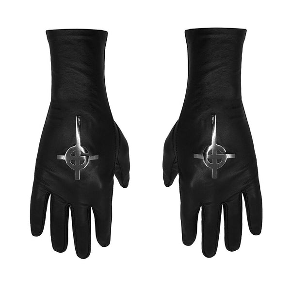 VEGAN MAJESTY BLACK X GHOST NAMELESS GHOUL GLOVES