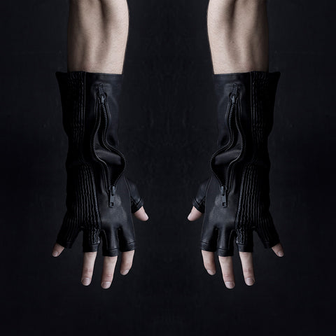 LEATHER BUTCHER GLOVES