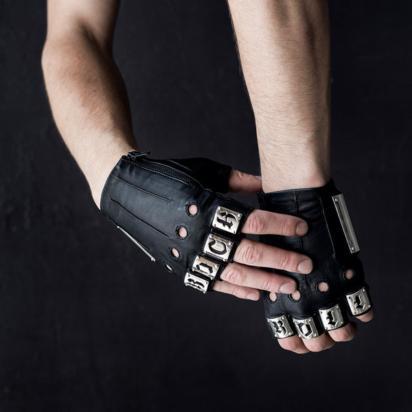 ROCK AND ROLL ARMOR GLOVES