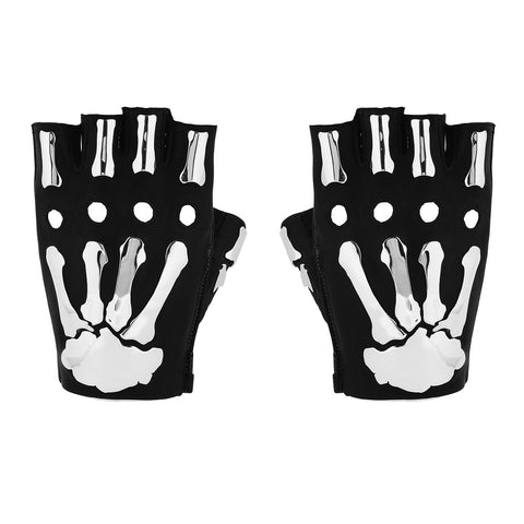 VEGAN METAL BONES GLOVES
