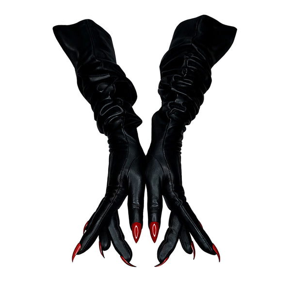 THE VAMP OVERSIZED OPERA GLOVES