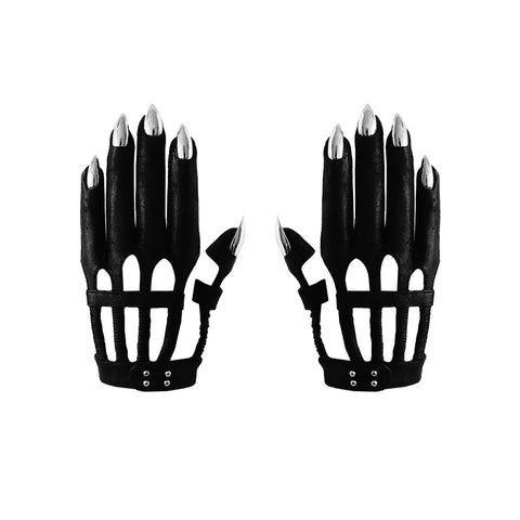 VEGAN LE SKELETOUR NAIL GLOVES