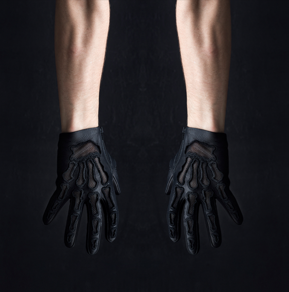 HOLLOW BONES FULL LENGTH EMBROIDERED GLOVES