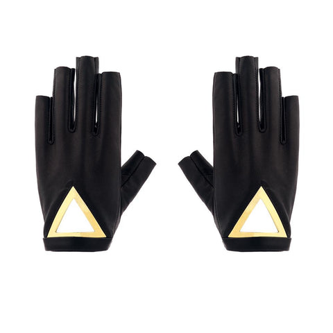 TRIANGLE BLADE FINGERLESS GLOVES