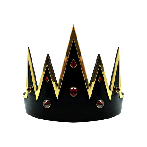 VEGAN LEATHER GEM STONE CROWN