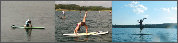 Stand up Paddle Yoga | Boerne City Lake