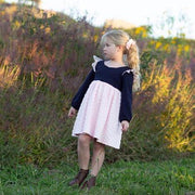 Tea Dress - Minky - Mini Mooches is an Australian owned business specialising in handmade clothing and accessories for girls aged between 1-10. Beautifully designed Floral Dresses, Peplum Tops, Suspender skirts and shorts. Special occasions to everyday wear.
