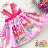 Ariella Pink Hummingbird Dress