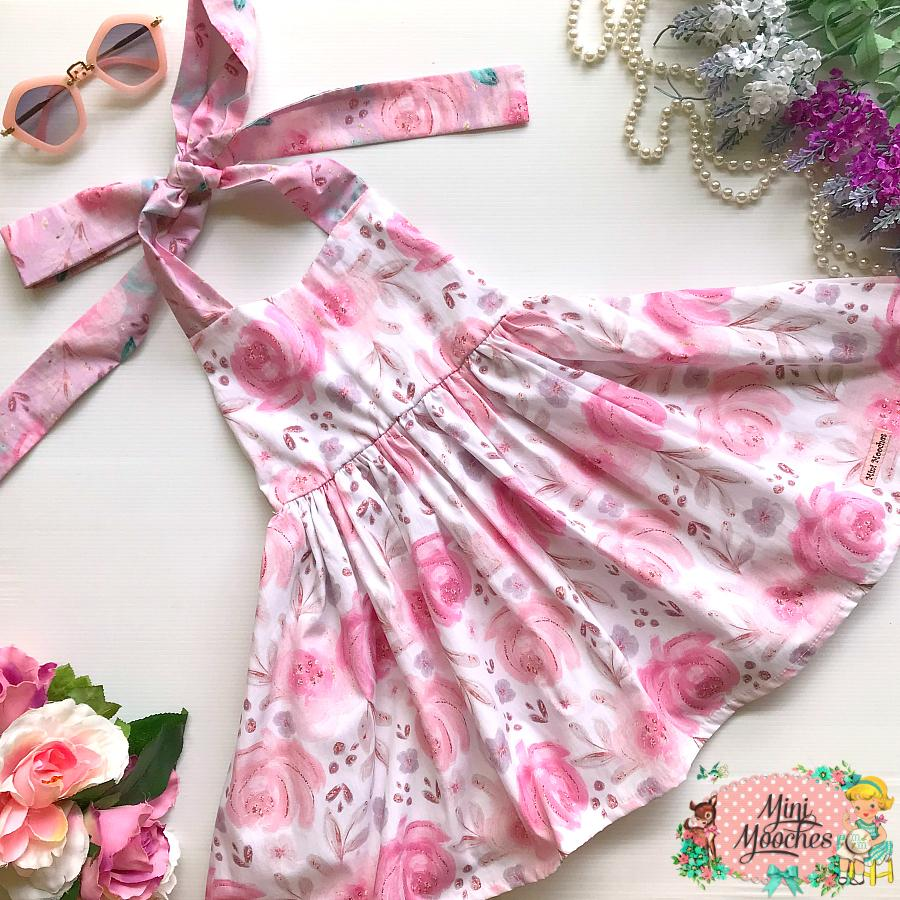 Baby Animal White Floral Jive Dress - Pre Order!