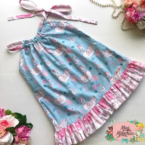 Baby Animals Blue Swan Mia Dress - Pre Order