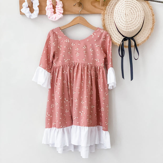 Easter Boho Dress - Cinnamon