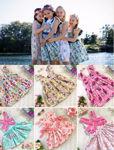 Gift Card - Mini Mooches is an Australian owned business specialising in handmade clothing and accessories for girls aged between 1-10. Beautifully designed Floral Dresses, Peplum Tops, Suspender skirts and shorts. Special occasions to everyday wear.