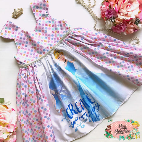 Cinderella Fairytale Tea Party Dress - Pre Order