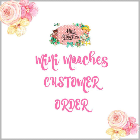 Tracy New Customer Order 25/5/17