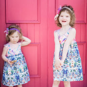 Mermaid Hummingbird Dress - Emma