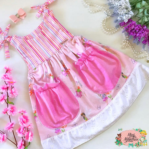 Fairy Fields Pink Kate Dress!