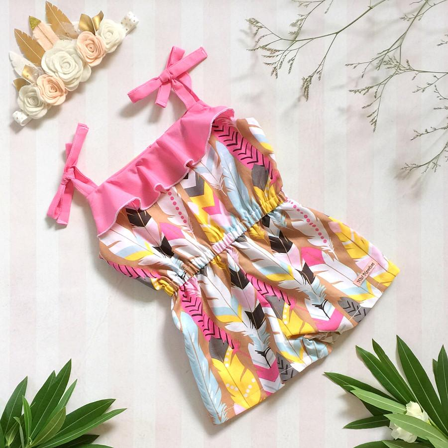 Feather Princess Summersuit