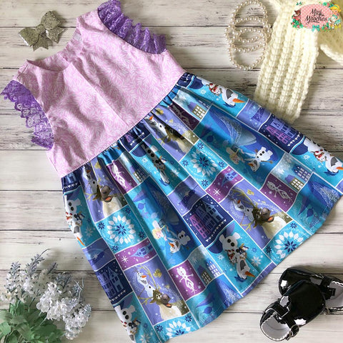 Frozen - Racer Back Tea Party Dress