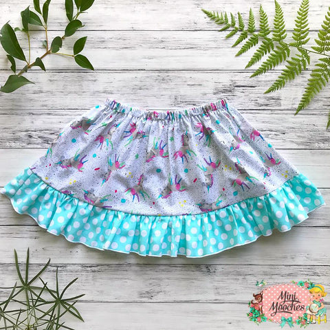 Chasing a Unicorn Twirly Skirt